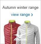 Mizuno autumn winter clothing 2017